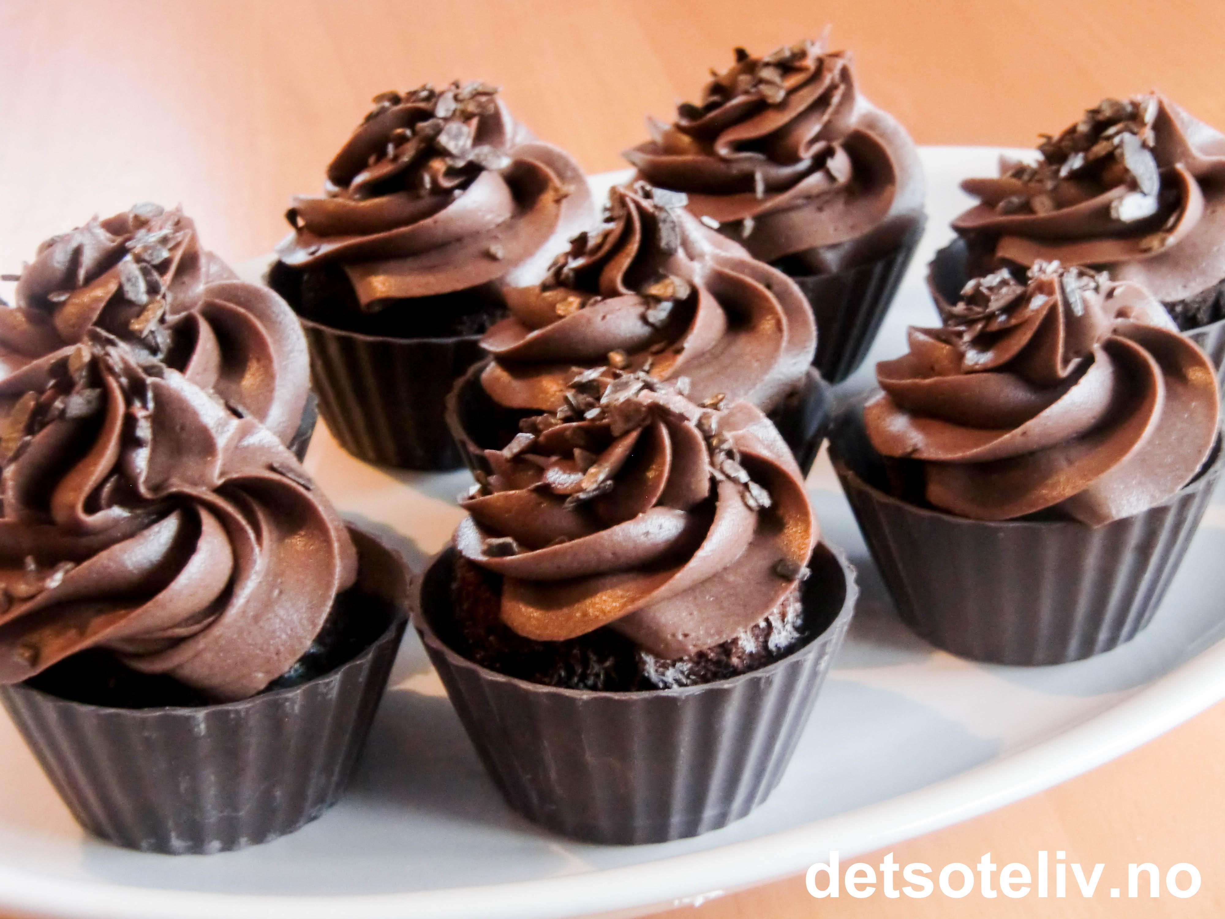 Chocolate Chocolate Cup Cupcakes Det S 248 Te Liv