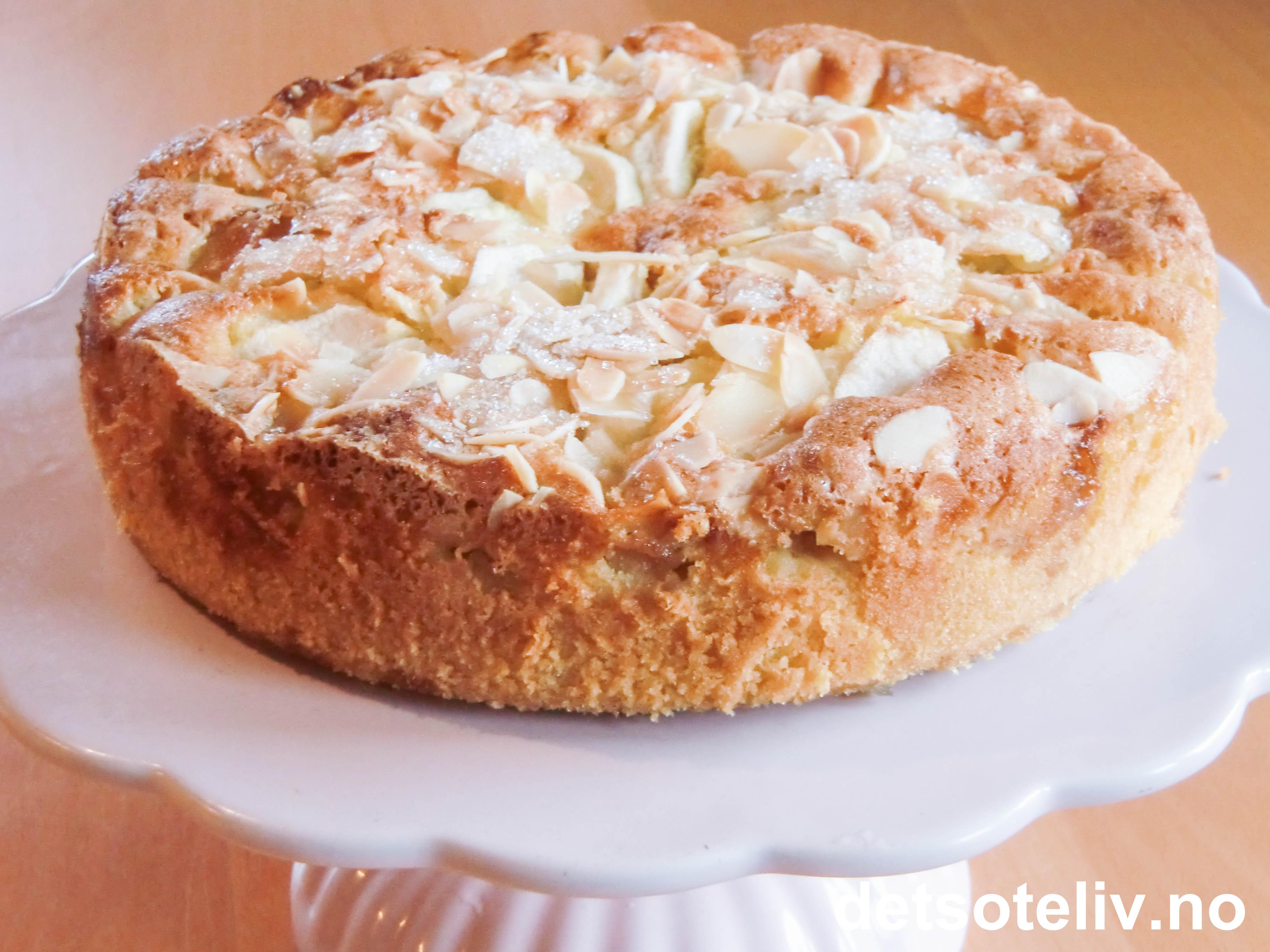 kake med eplemos