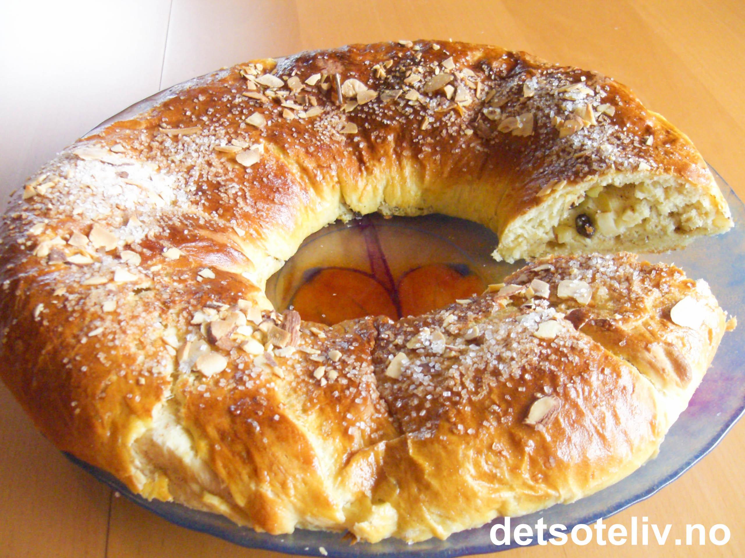 muffins med karamelliserte epler