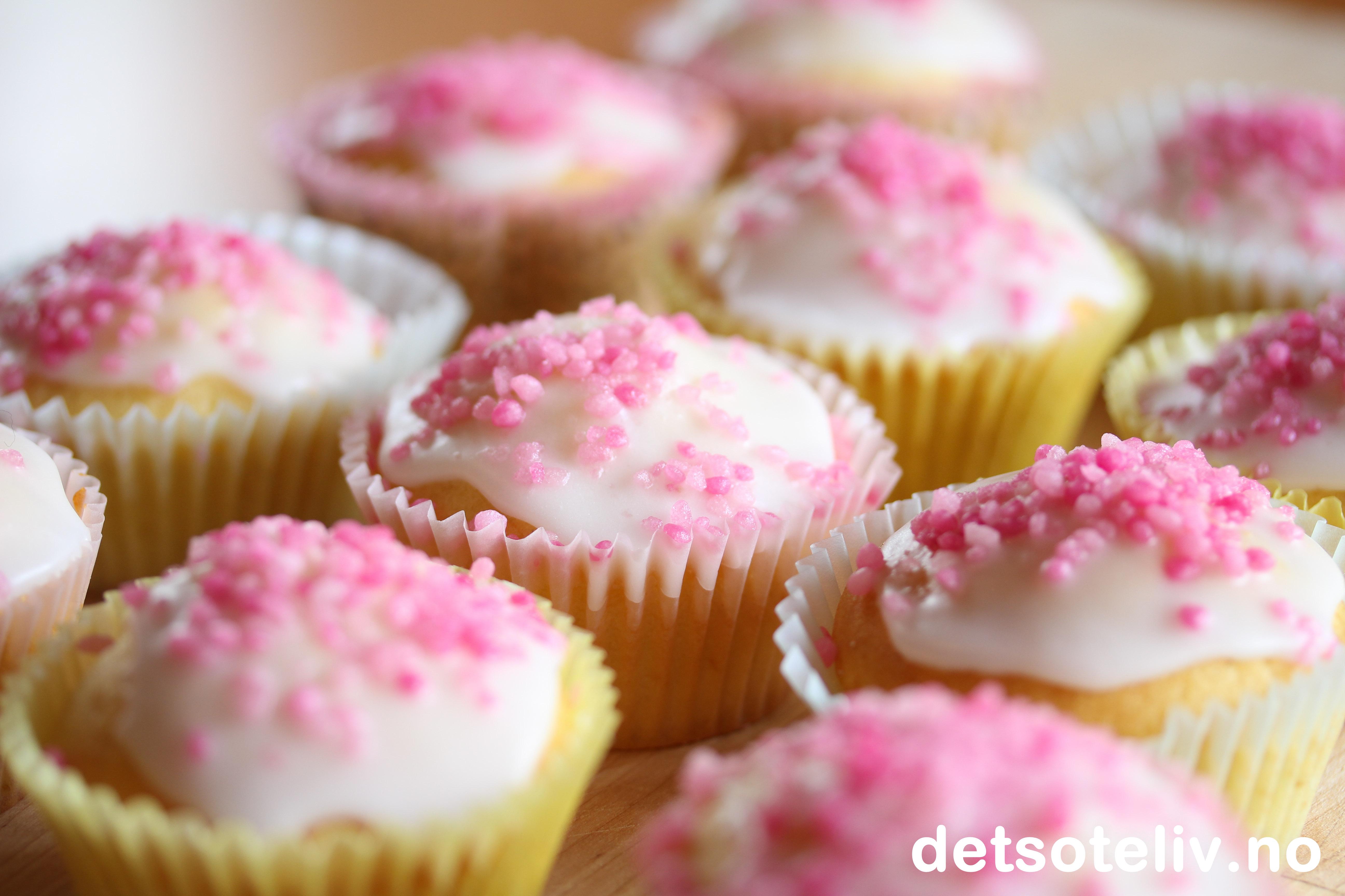 Rømmemuffins med sitron | Det søte liv
