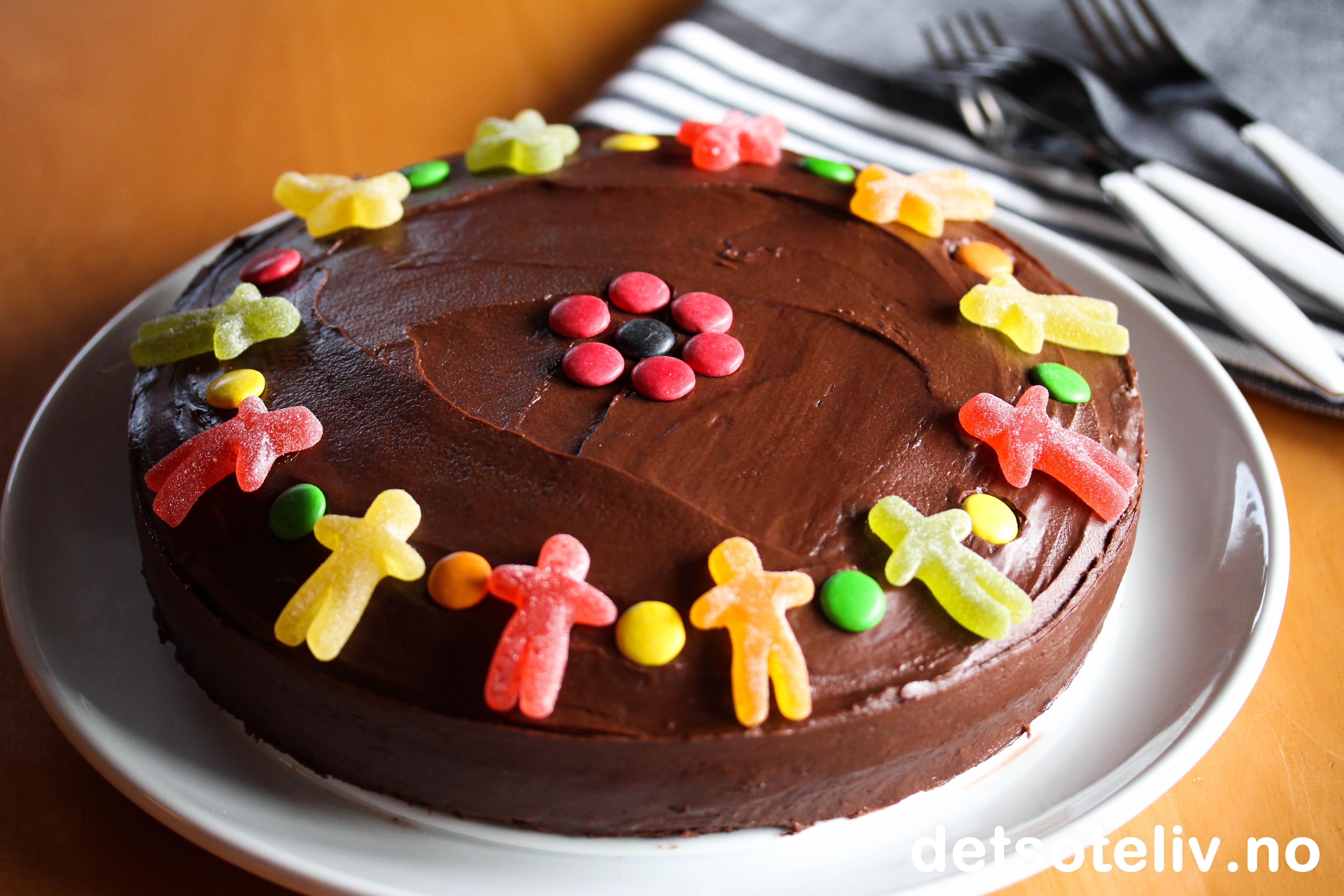 Barnas Sjokoladekake Det S 248 Te Liv