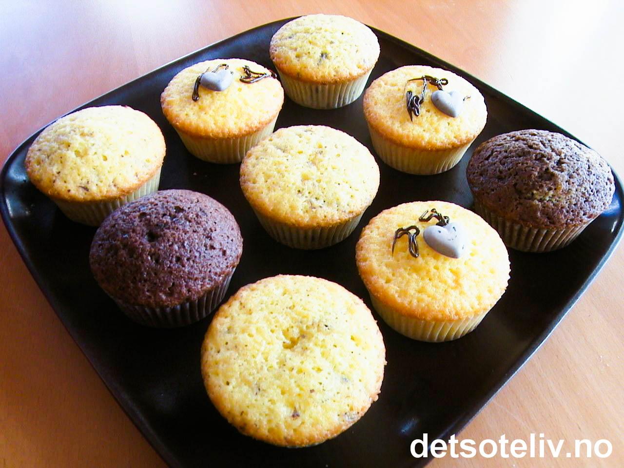 Lettvinte muffins | Det søte liv