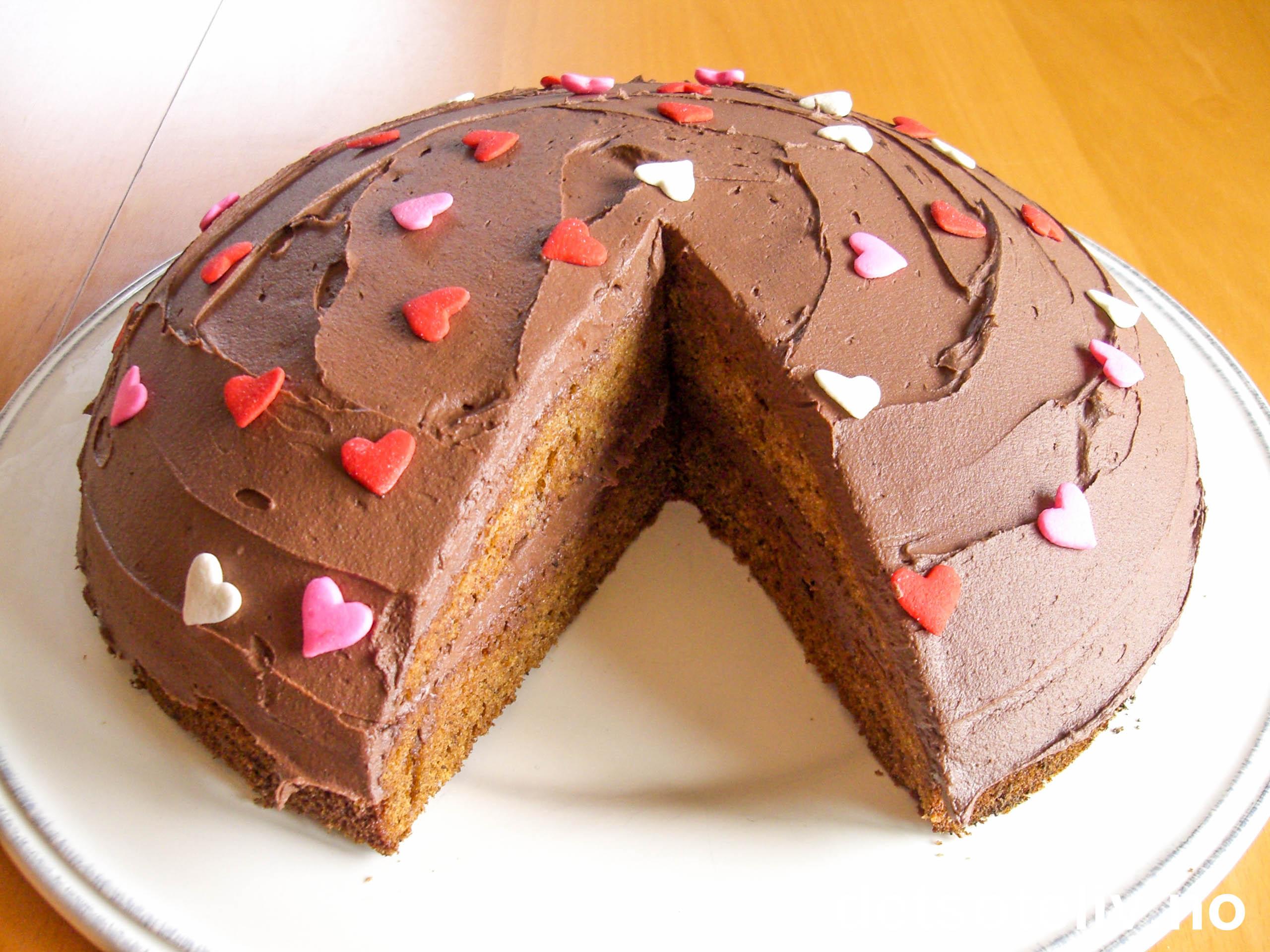 kake med kremflote