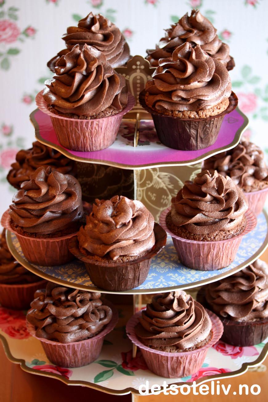 Saftige Muffins Med Rømme