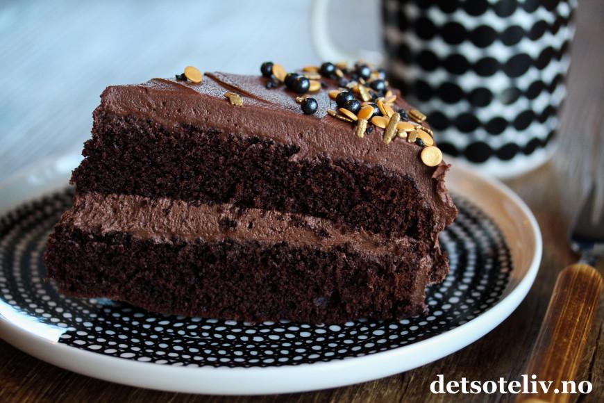 klassisk sjokoladekake