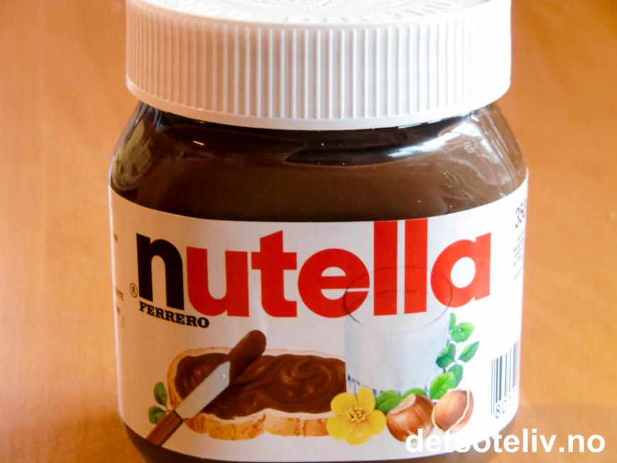 Nutella Caramel Hazelnut Brownies | Det søte liv