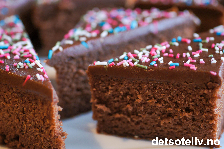 Sjokoladekake Med Rmme Det Ste Liv