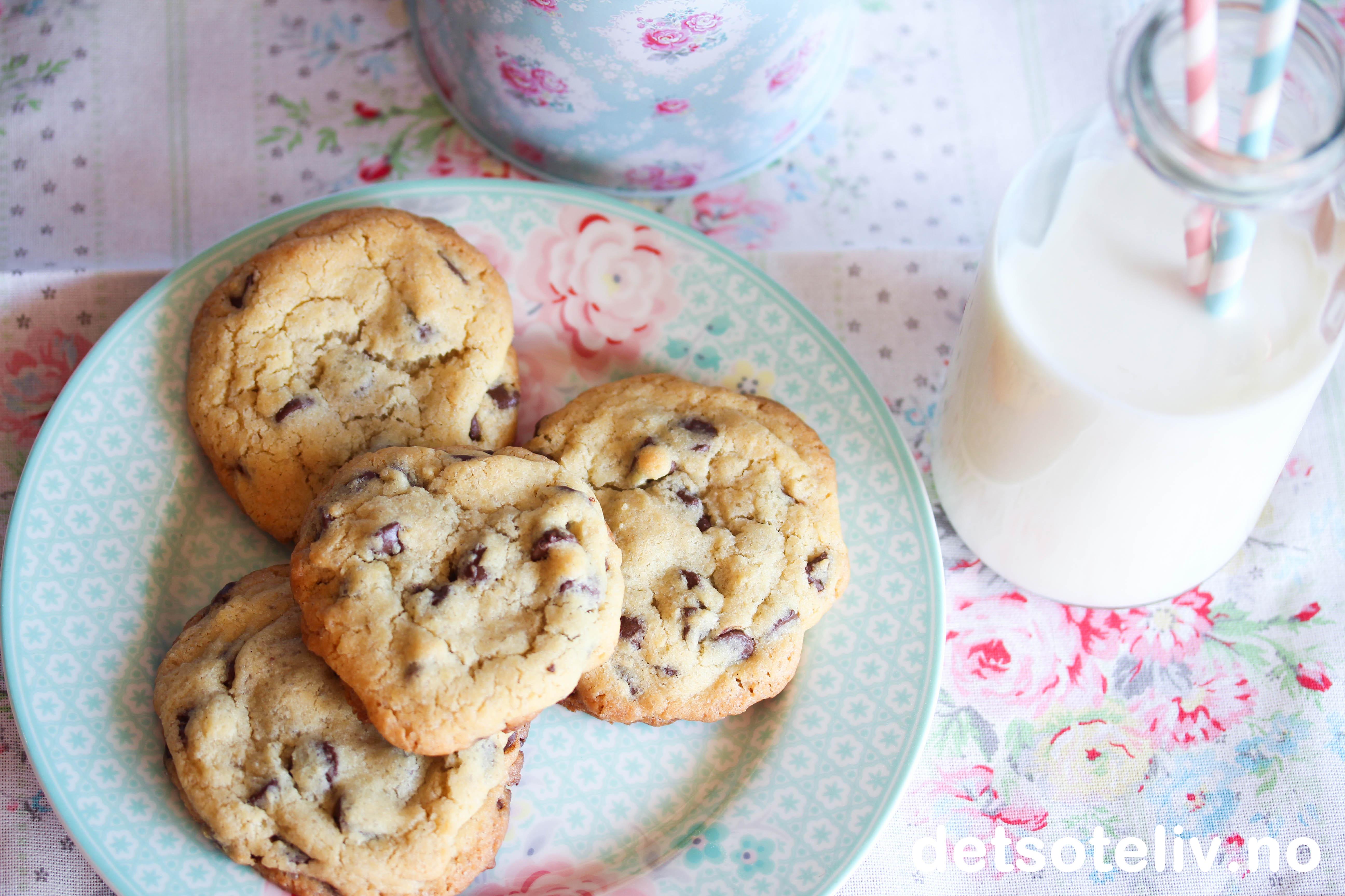Sjokolade cookies uten brunt sukker dating