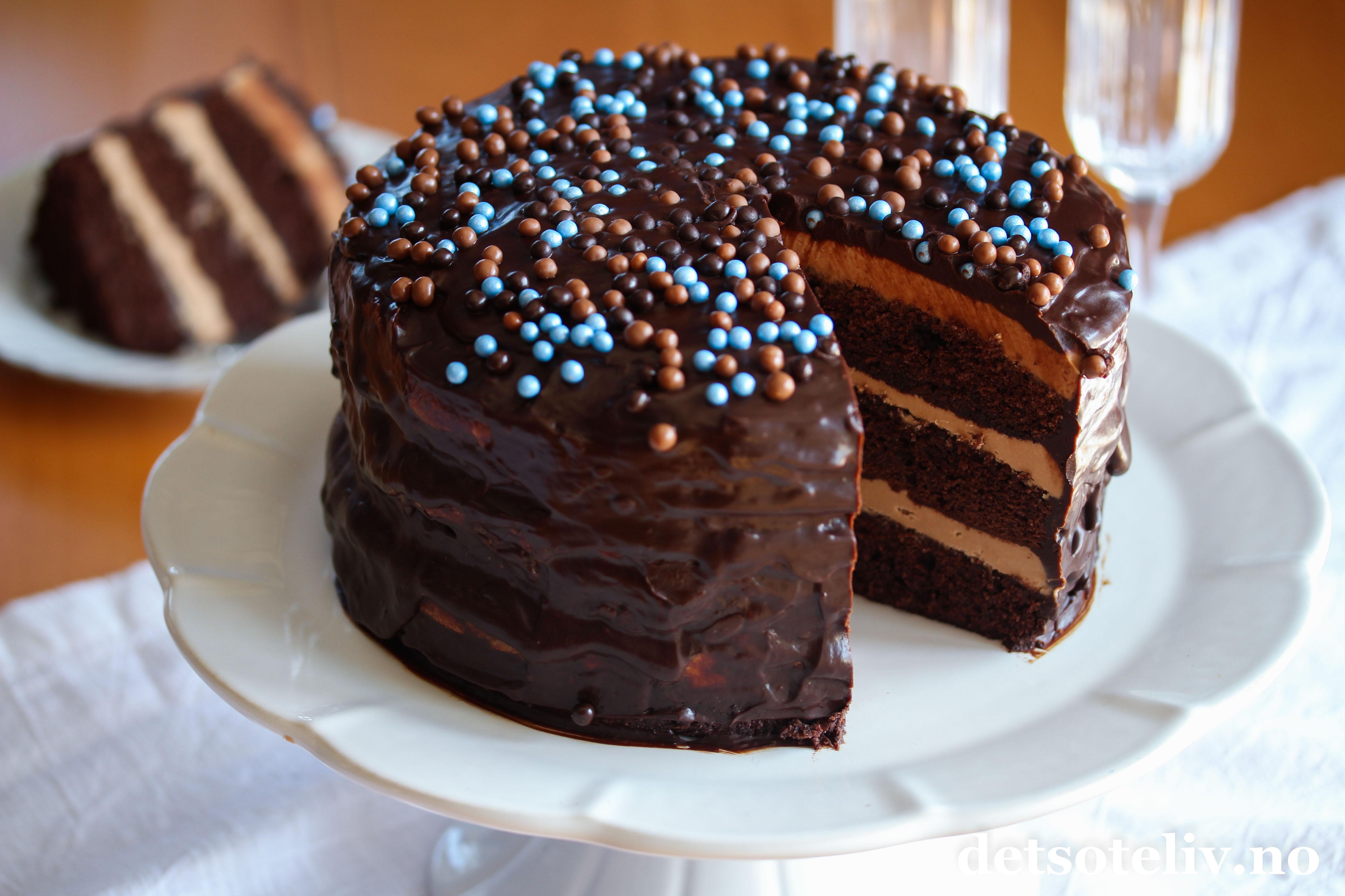 Dynke Sjokoladekake
