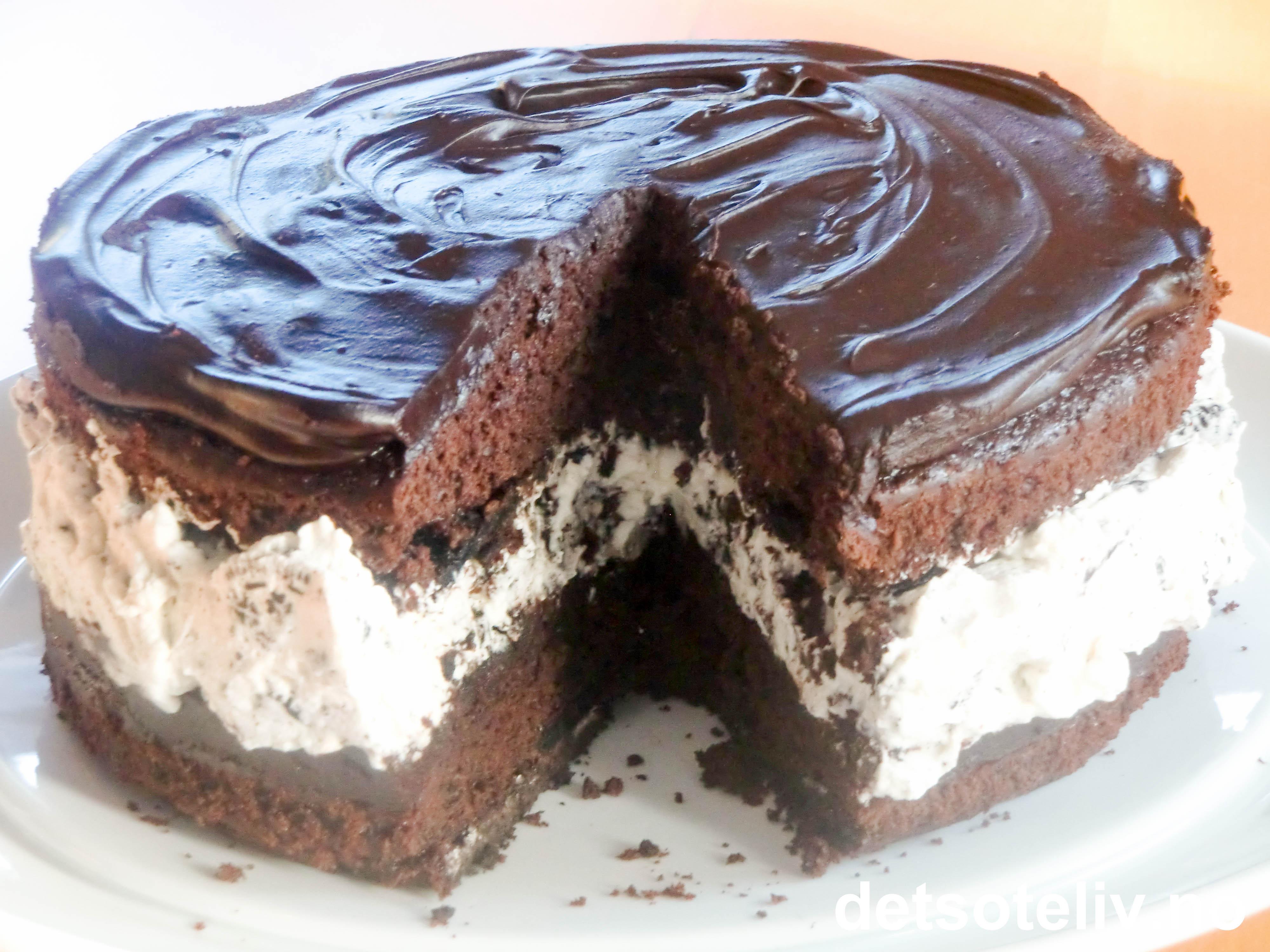 sjokoladekake fyll